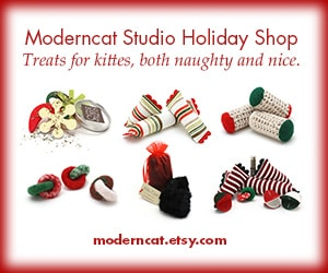 Moderncat holiday toys