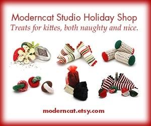 Moderncat holiday toys