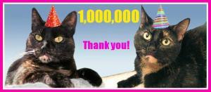 One million thank you