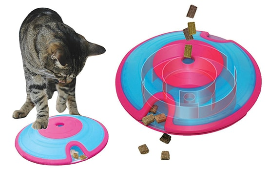 Interactive Puzzle Toys For Smart Cats