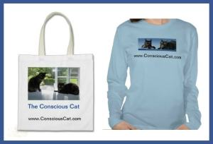 Conscious_Cat_tote_bag_t-shirt