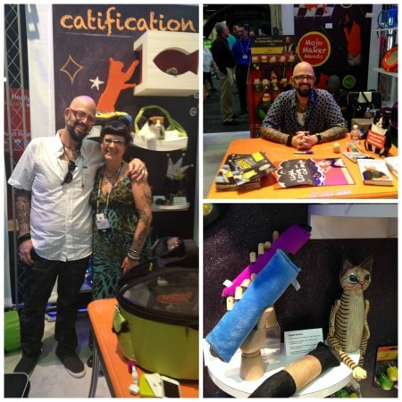 The jackson galaxy collection by petmate lets cats play for Jackson galaxy mojo maker