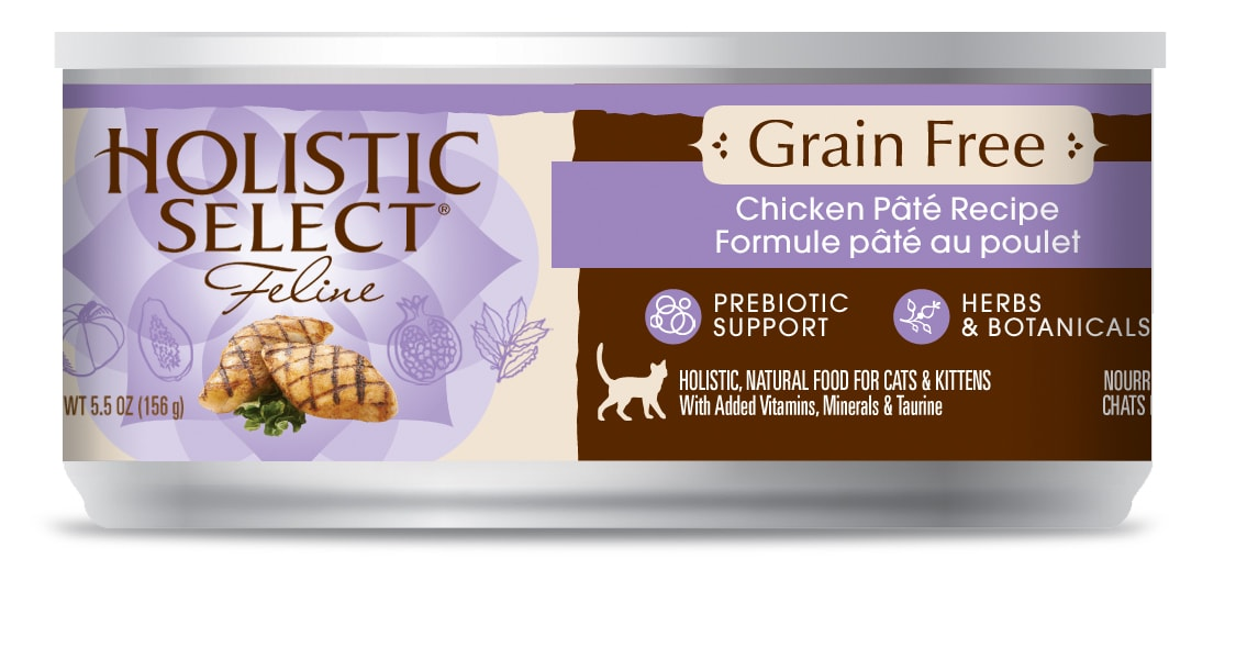 Review holistic select grain free canned cat food the conscious cat review holistic select grain free canned cat food forumfinder Images