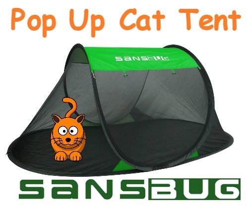 SansBug Pop Up Cat Tent Winner  sc 1 st  The Conscious Cat & Giveaway: SansBug Pop Up Cat Tent - The Conscious Cat