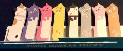 cat-sticky-markers