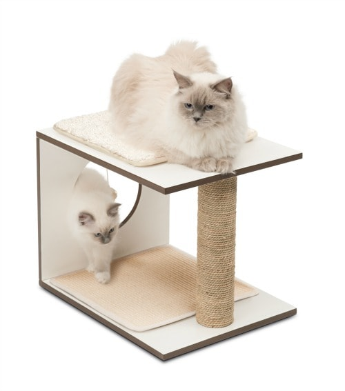 The Vu2014Stool Is An Expandable Play And Sleeping Spot For Cats. You Can  Combine Several Pieces To Create A Unique Adventure Tower For Exploration.