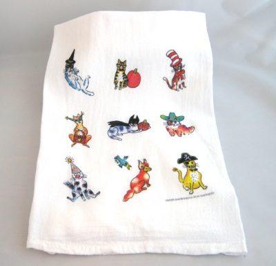 halloween-cat-kitchen-towel