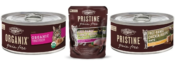 Review Castor Pollux Organix and Pristine Wet Food The
