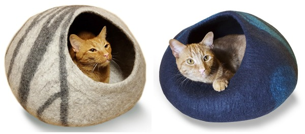 felted-wool-cat-bed
