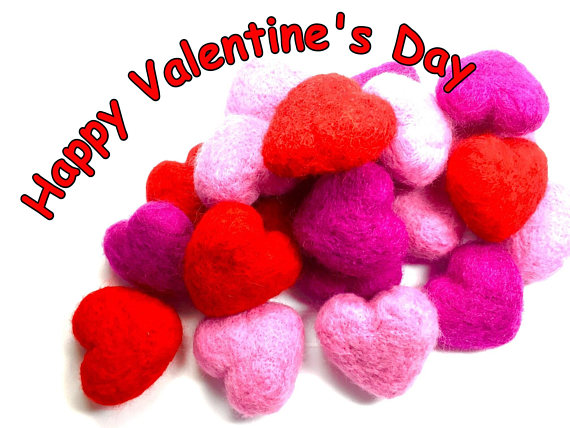 Spoil Your Valentine Kitty With Felted Catnip Hearts The Conscious Cat