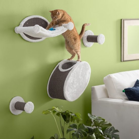 Wall-Mounted-Cat-Lounging-Set