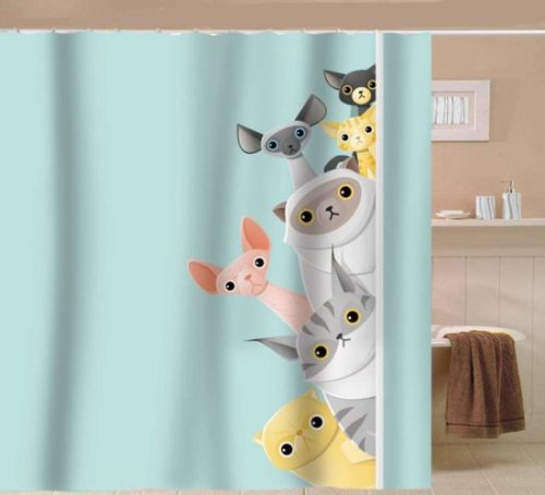cat-shower-curtain