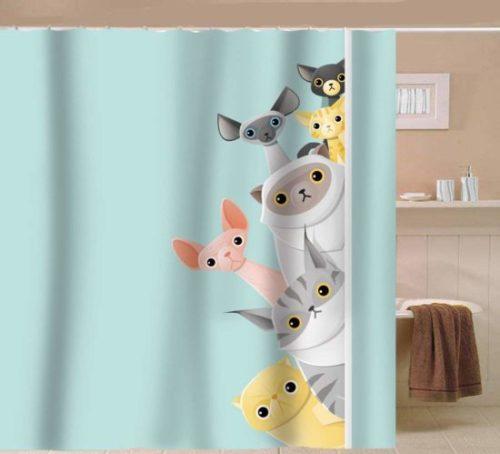 cat-shower-curtain