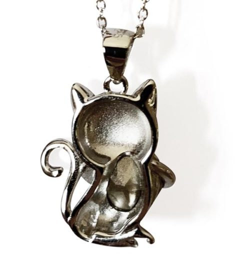 Back_Swarovski_crystal_cat_necklace