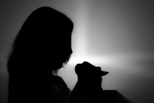 woman-cat-pet-loss-support