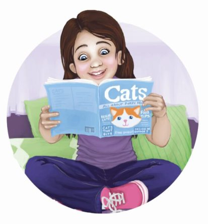 girl-cat-book