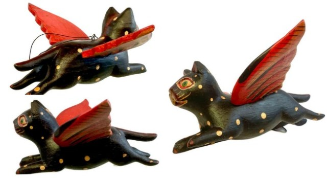carved-flying-cats