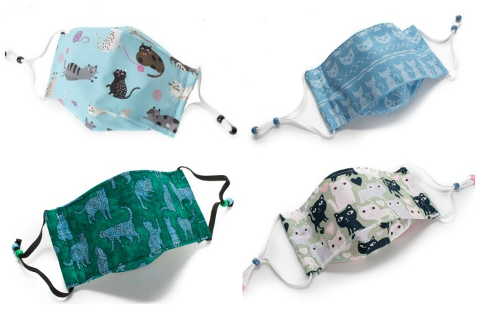 cat-fabric-face-masks