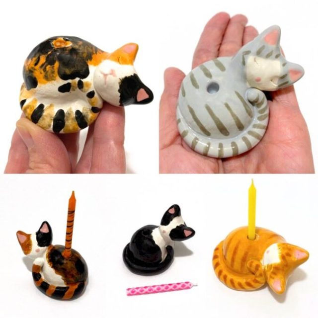 ceramic-cat-cake-toppers