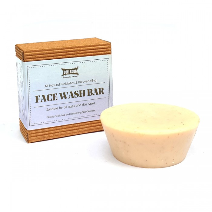 Face wash bar by Goli Soda