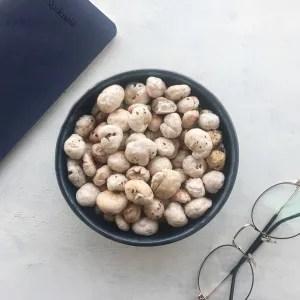 roasted makhana- Indian vegan snack