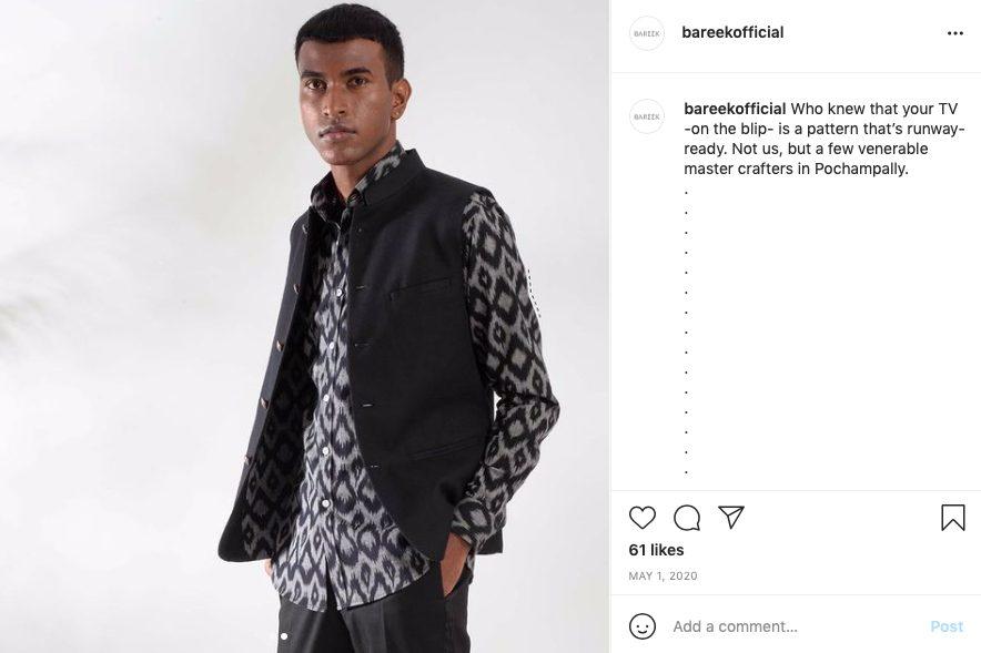 Festive look brand for him - Bareek