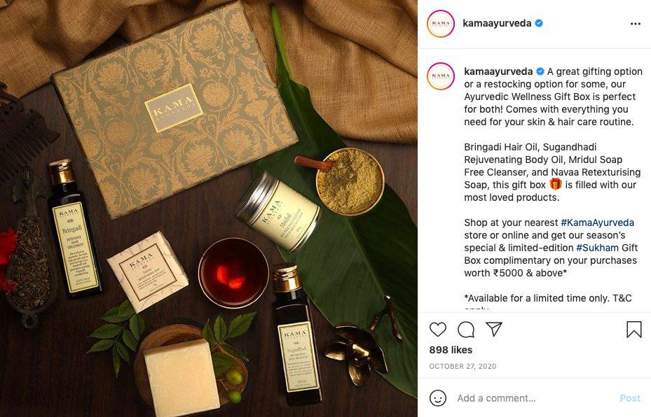 conscious skincare brand- Kama Ayurveda