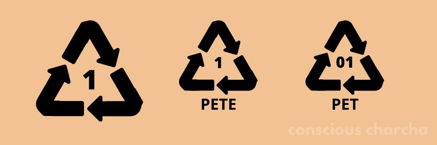 Number 1 PET Plastic