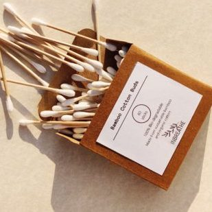 Bamboo cotton swabs by Inbreathe