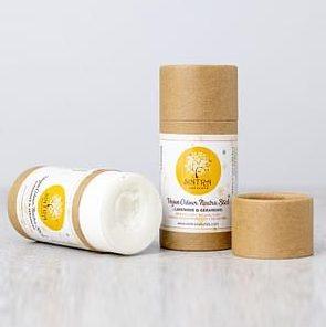 Vegan deodorant plastic-free stick by Sintra Naturals India
