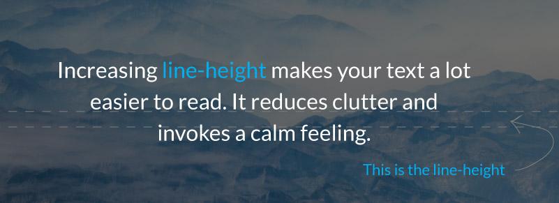 Using Line Height in Wellness Marketing
