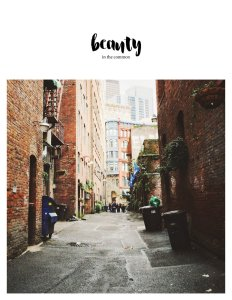 The Beauty In The Common Zine Cover