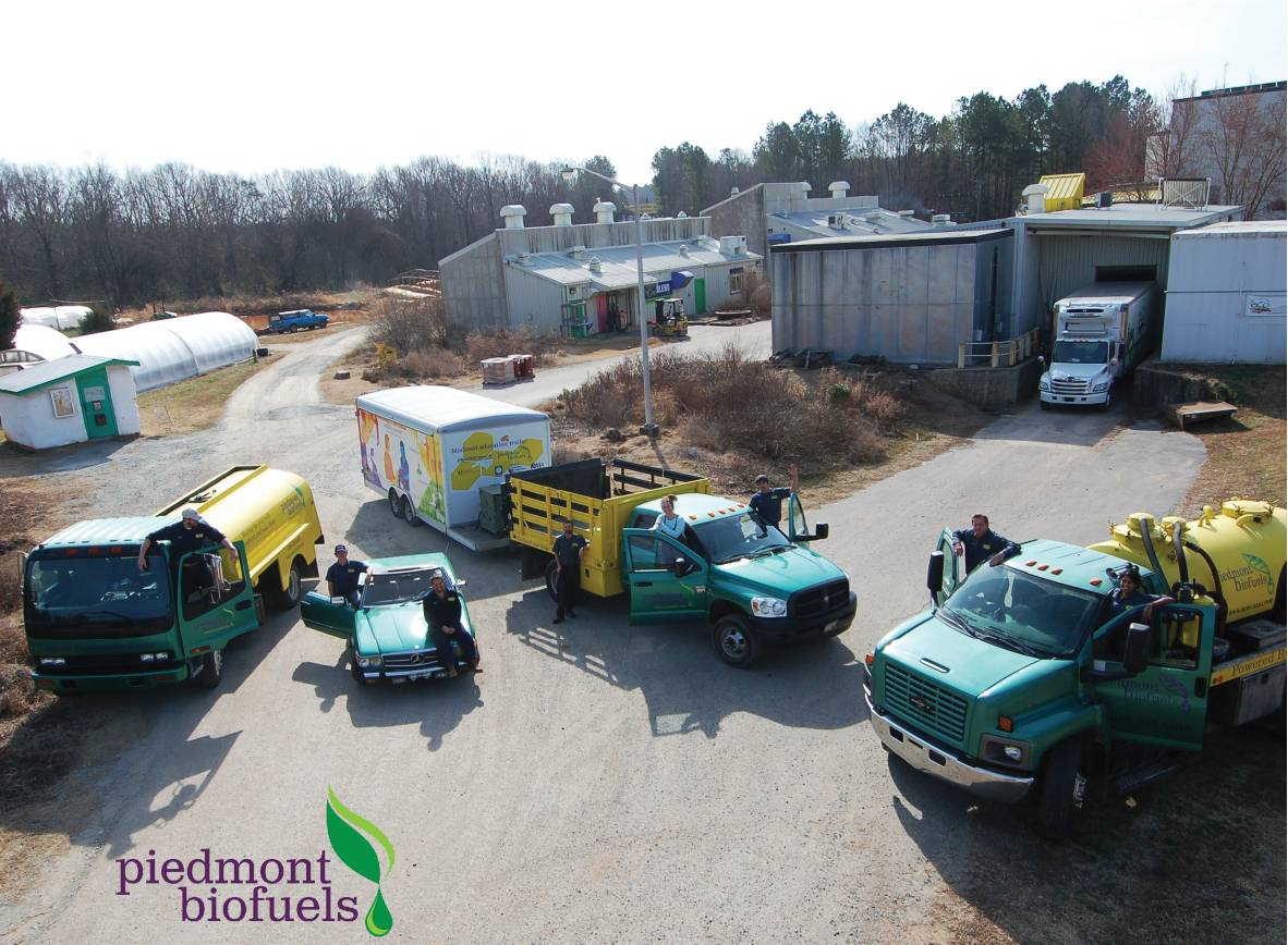 piedmont biofuels is in the clean air business conscious company