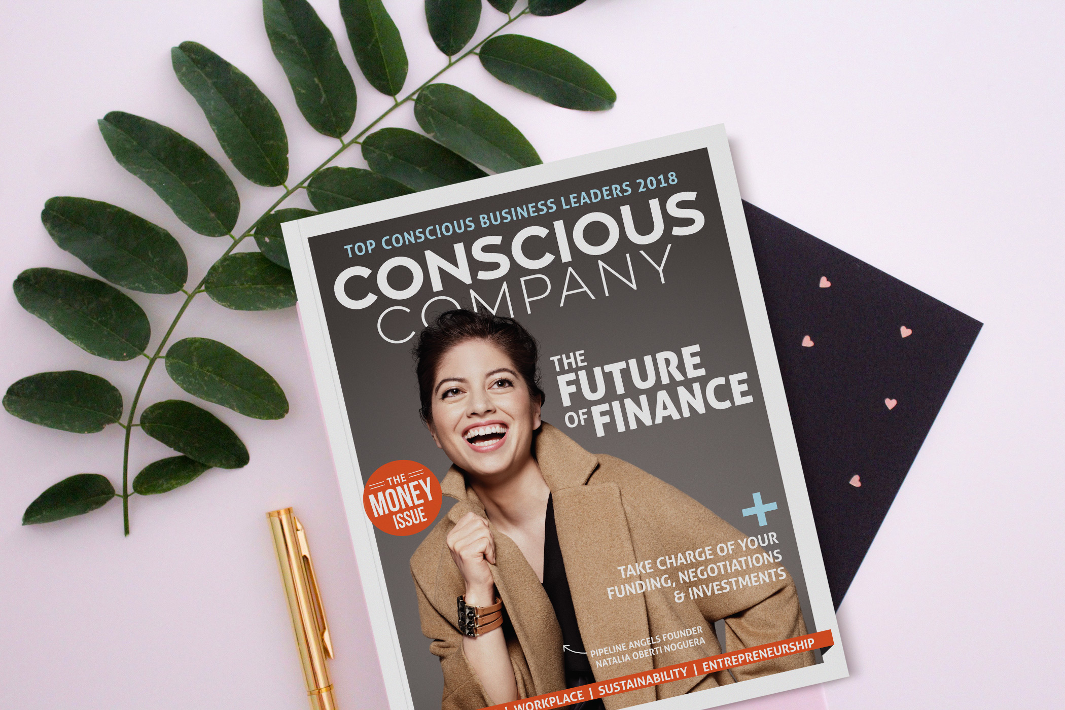 Meet Issue 19: The New Face of Finance - Conscious Company