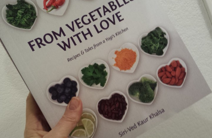 "Holiday Surprise! Signed Copies of ""From Vegetables with Love"""