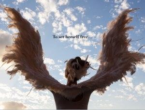 to set herself free