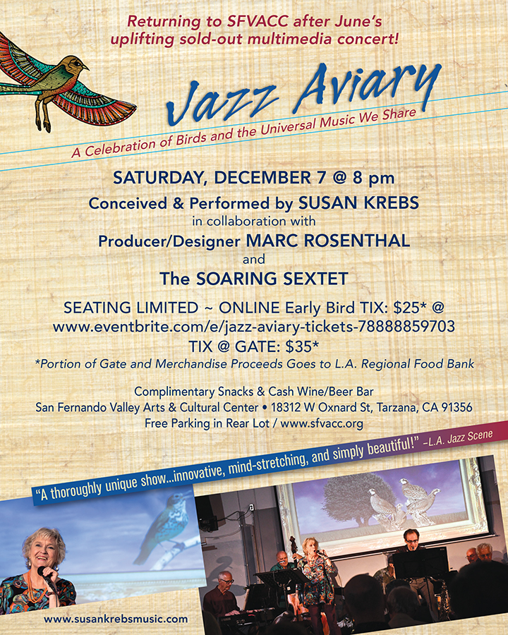 Jazz Aviary Event Poster