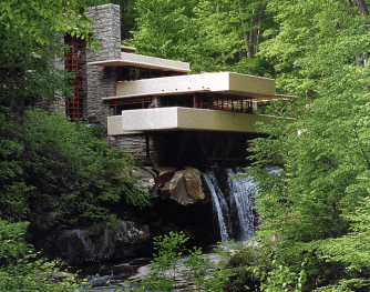 'Falling Water' completed in 1937