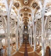 Gaudi's Sagrada Familia in Spain