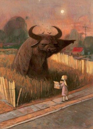 Waterbuffalo (2008) by Shawn Tan