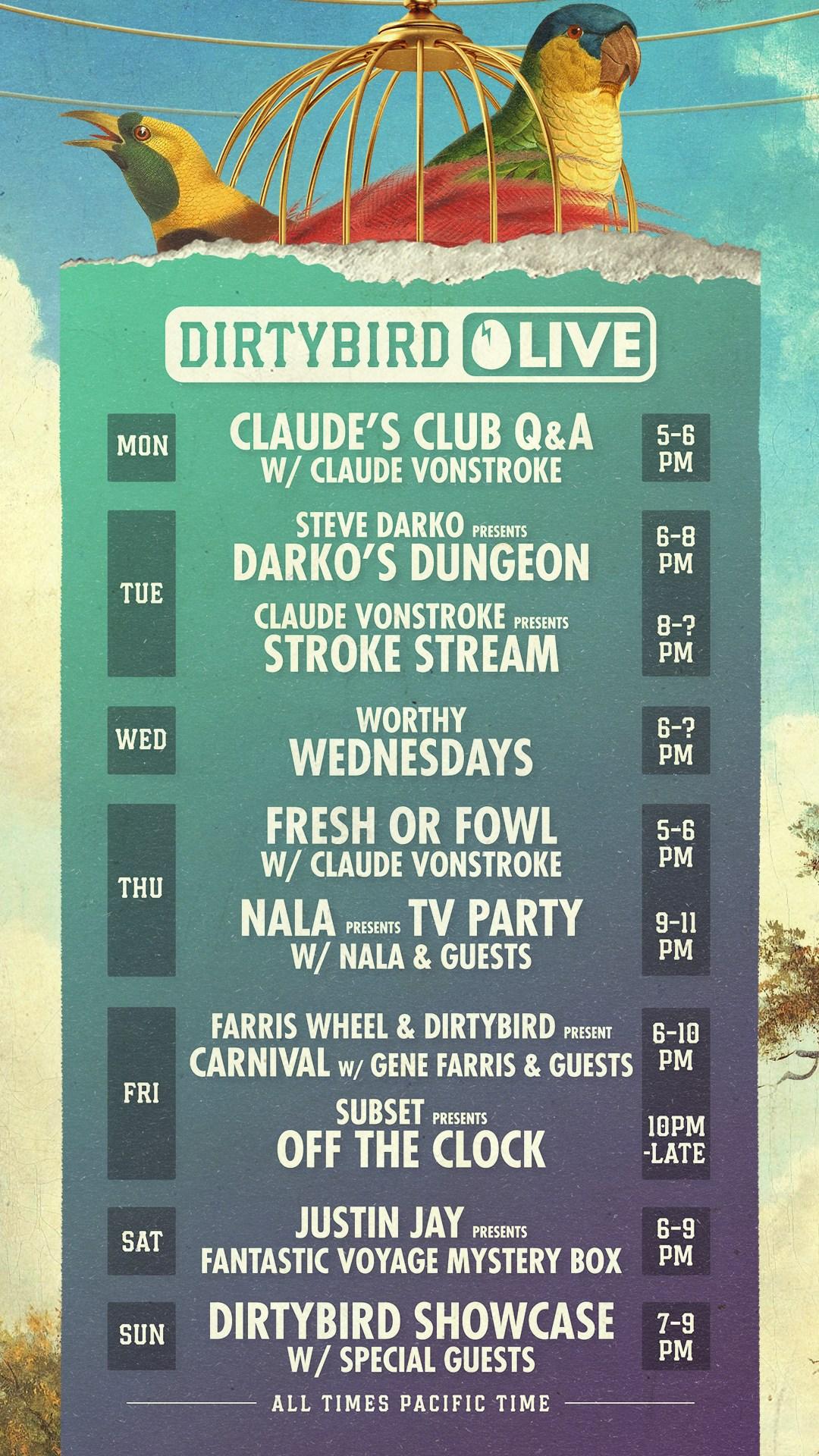 1.-Dirtybird-Live-Schedule-Poster-LAUNCH-WEEK-August-17-2020