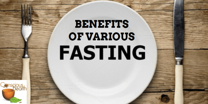 Benefits of Various Fasting