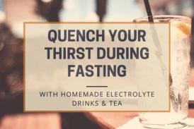 Homemade Electrolyte Drinks & Tea
