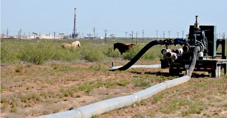 Fracking is Depleting Water Supplies in America's Driest Areas, Report Shows