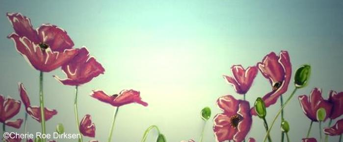 Pink Poppies by Cherie Roe Dirksen Header