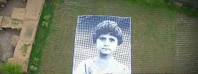 Artists Put Faces of Child Drone Victims on Display for UAV Operators