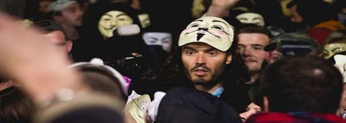 Russell Brand Calls On 50,000 Protesters To Stage 'Joyful Revolution'