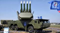 Russian-made Buk anti-missile battery.
