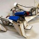Real-Life Transformer: Robot Self-Assembles and Walks Away [1-min Video]