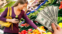 organic shopping saving